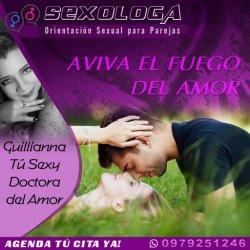 Orientación sexual para parejas en Quito | Sexóloga del Amor