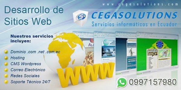 Desarrollo de Páginas Web en Quito - Cegasolutions