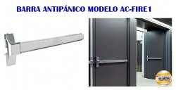 BARRA ANTIPÁNICO MODELO AC-FIRE 1